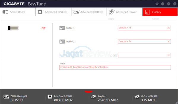 Gigabyte Z170X-Gaming G1 EasyTune 05