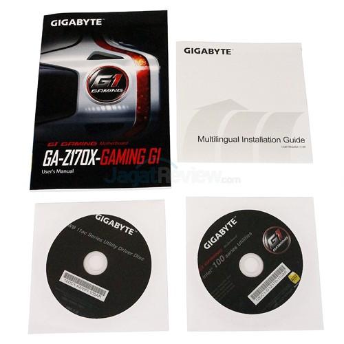 Gigabyte Z170X-Gaming G1 Manual & Driver & Utility