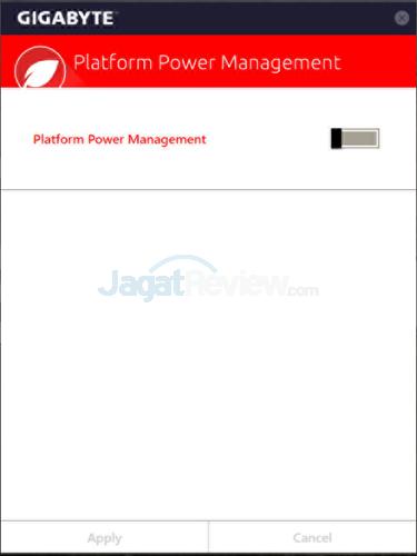 Gigabyte Z170X-Gaming G1 Platform Power Management