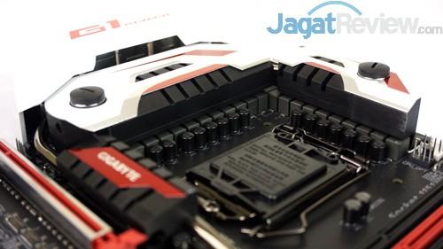 Gigabyte Z170X-Gaming G1 Processor Socket Area