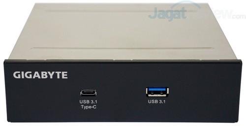 Gigabyte Z170X-Gaming G1 USB 3.1 Front Bay 01
