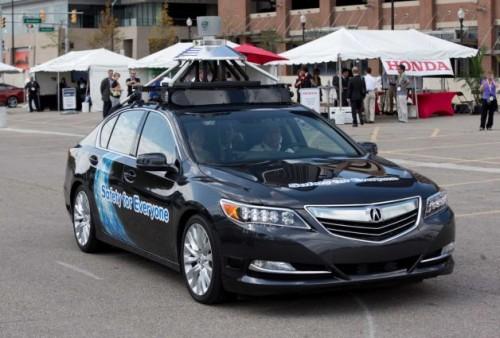 Honda-self-driving
