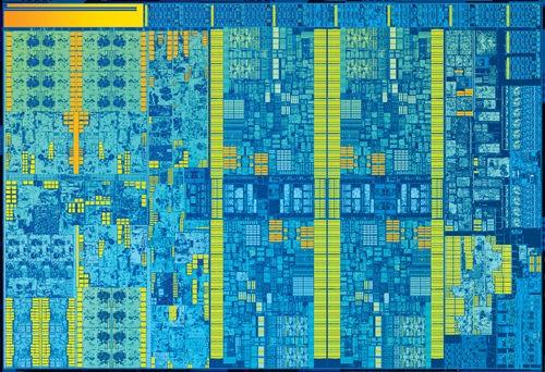 Intel 6th Gen Core Die