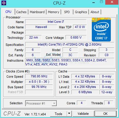 MSI Prestige PE60 2QE CPUZ 01