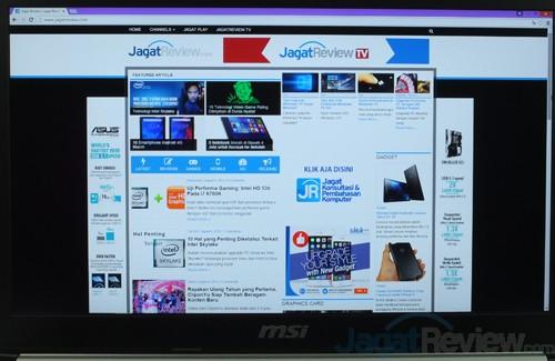 MSI Prestige PE60 2QE Desktop_True Color Mode 06 Movie