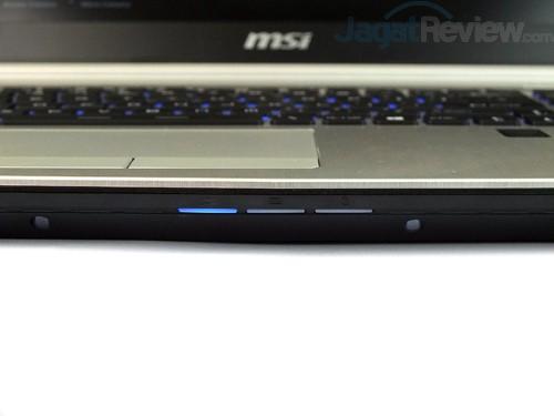 MSI Prestige PE60 2QE Indicator Lamps