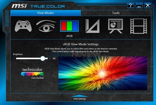 MSI Prestige PE60 2QE True Color 03