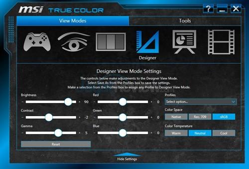 MSI Prestige PE60 2QE True Color 04