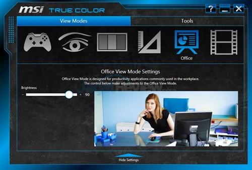 MSI Prestige PE60 2QE True Color 05