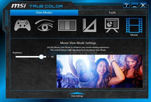 MSI Prestige PE60 2QE True Color 06