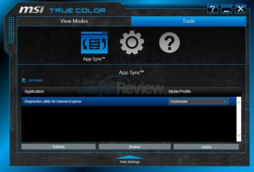 MSI Prestige PE60 2QE True Color 07