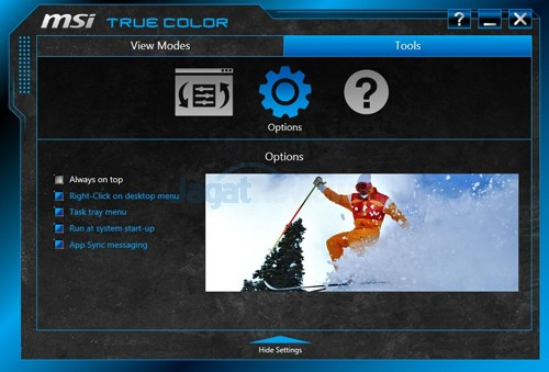 MSI Prestige PE60 2QE True Color 08