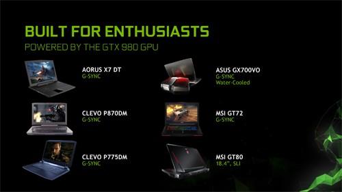 NVIDIA GeForce GTX 980 ''Notebook Edition'' 10