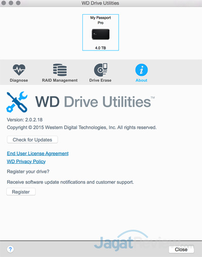Review Western Digital My Passport Pro 4TB | Jagat Review