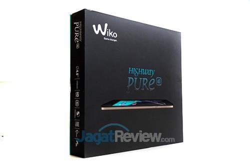 Wiko Highway Pure 4G - Kemasan