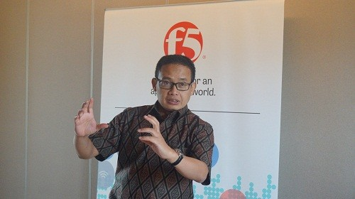 Fetra Syahbana, Country Manager F5 Network Indonesia