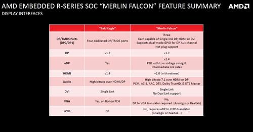 AMD R Series Display Type