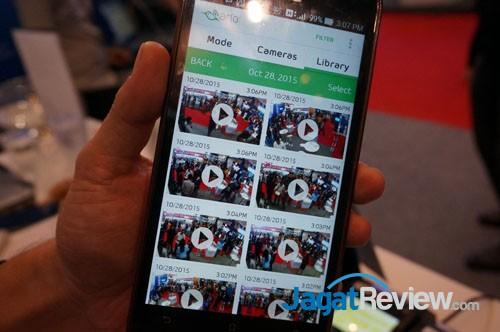 Aplikasi yang disediakan untuk Netgear Arlo ini hanya tersedia untuk Android dan iOS.