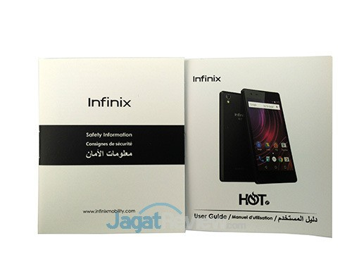Infinix Hot 2 - Buku Manual
