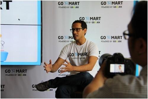 CEO dan Co-Founder GO-JEK, Nadiem Makarim