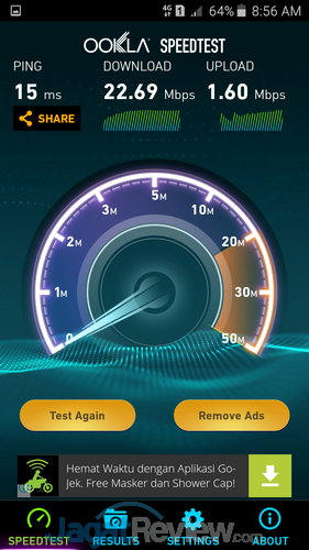 Speedtest Galaxy J5 (2)