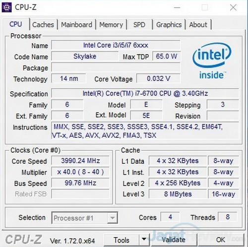 cpuz CPU