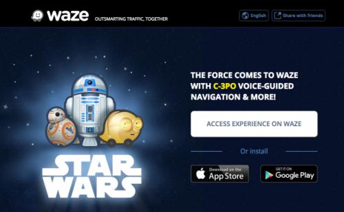 waze star wars