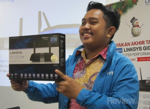 Teguh Prasetyo Mulyo, Product Specialist & Support Linksys Indonesia