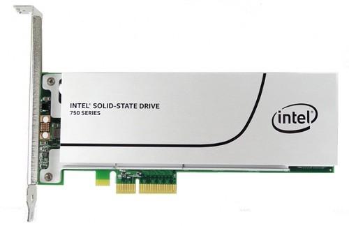 Intel NVMe 750 series