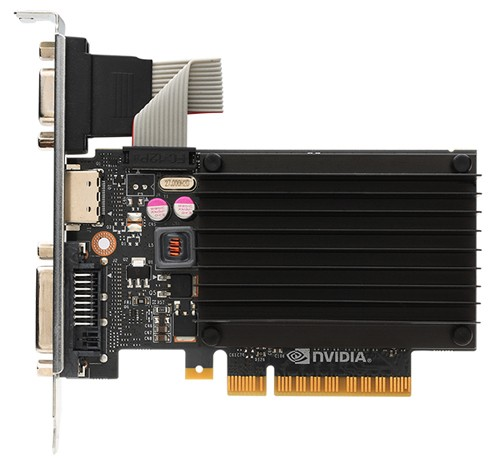 NVIDIA GT 710 DDR3 Top View