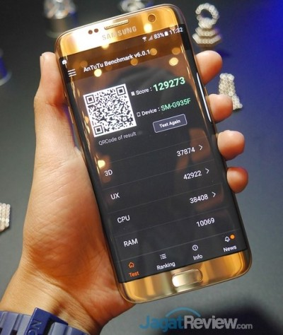 AnTuTu 6 Galaxy S7 Edge