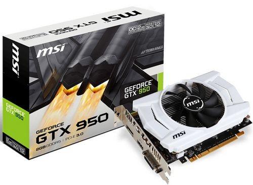 GTX 950 2GD5 OCV2