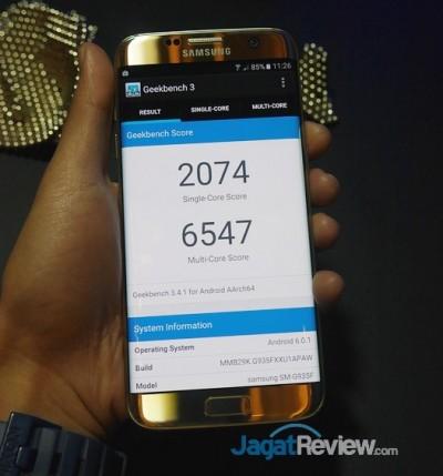 Galaxy S7 Geekbench 3