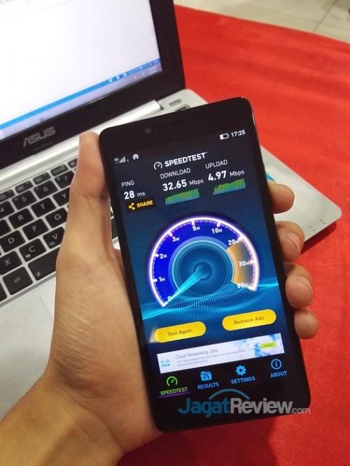 Speedtest A6010 + Smartfren b