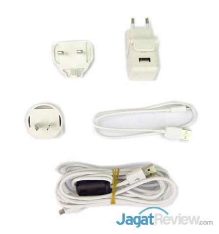 kelengkapan kabel charger