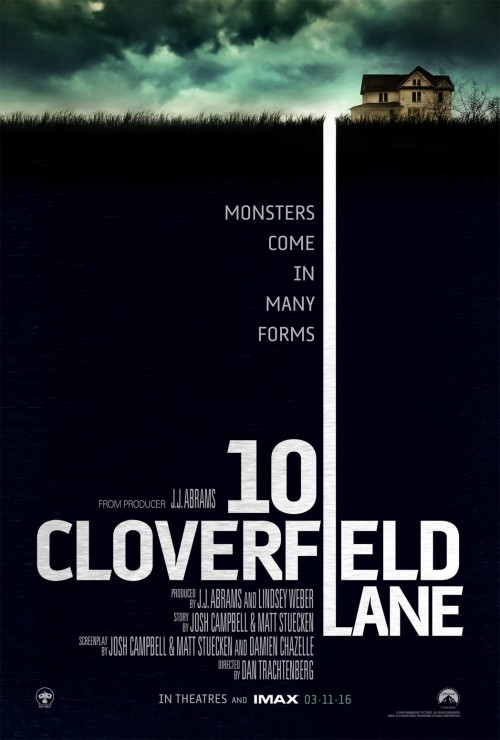 Cloverfield Lane Review Poster