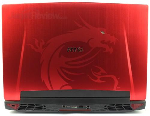 MSI GT72S 6QF Rear Side 01