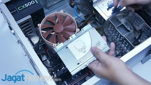Memasang SSD Ke PC Desktop