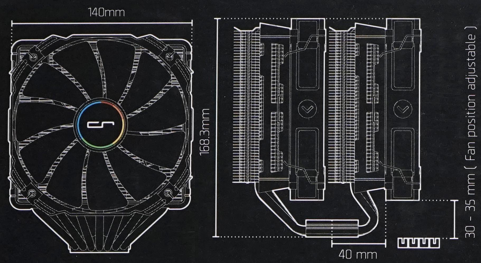 Spesifikasi Cryorig R1 c