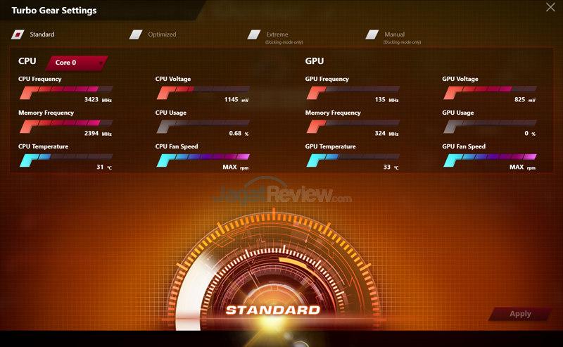 ASUS ROG GX700 Gaming Center (Standard)