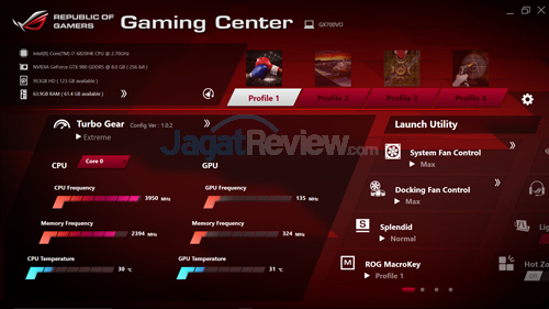 ASUS ROG GX700 Gaming Center