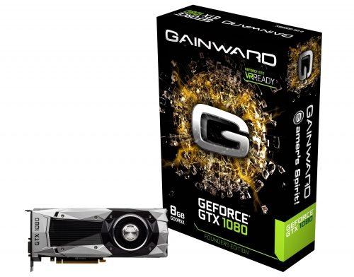 Gainward GeForce GTX 1080 Founders Edition