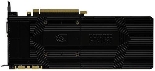 NVIDIA GeForce GTX 1080 Back