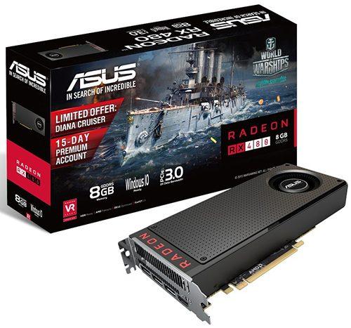 ASUS RX 480 8GB