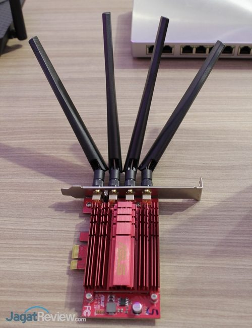 Asus - Networking - PCIe WiFi AC Adapter