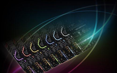 Computex 2016 - ECS LIGHTSABER Illumination