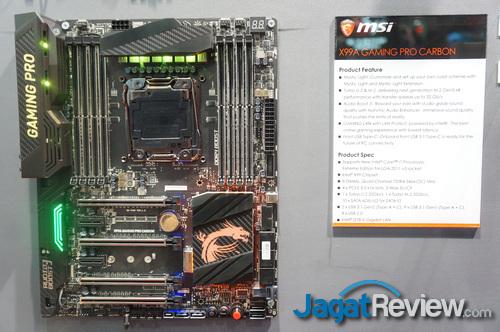 Computex 2016 Berbagai Motherboard Di Booth Msi Jagat