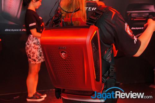 Backpack PC untuk kebutuhan VR dari MSI