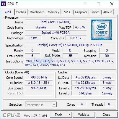 HP Pavilion Gaming 15-ak035tx CPUZ 02