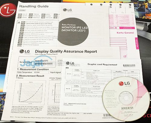 LG 27UD68 Documentation & Disc